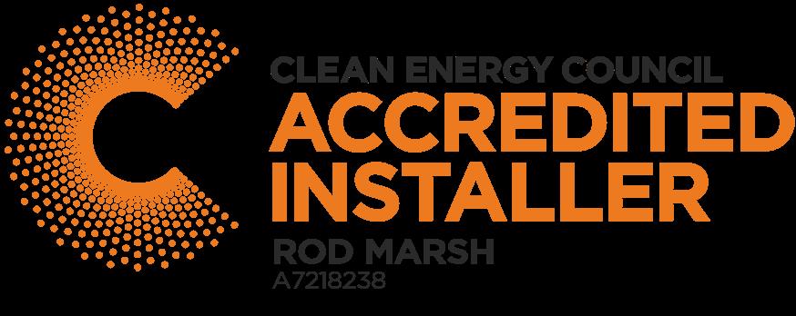 Clean energy certified installer