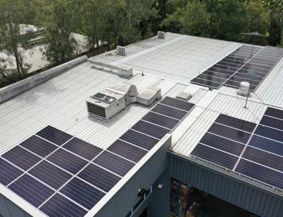 Glossodia Solar Panels