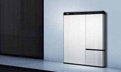 LG Chem Battery on wall