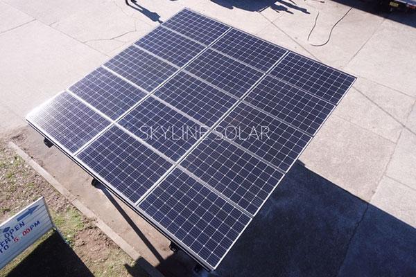 Solar Powered Car Port