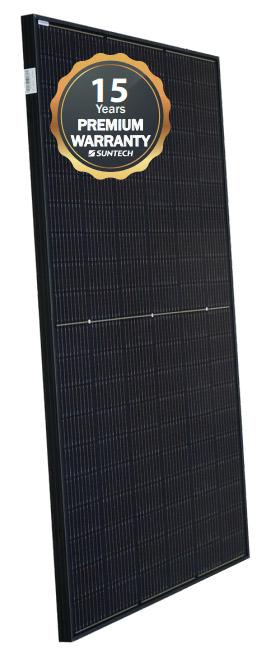 Suntech black solar panel